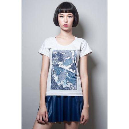 Camiseta Feminina Blastoise P