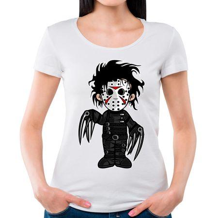 Camiseta Feminina Edward P - BRANCO