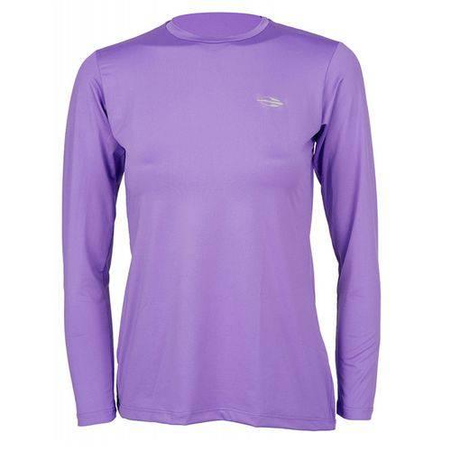 Camiseta Feminina ML Body Fit Proteção UV S508 Mormaii - Amarelo Fluor - P