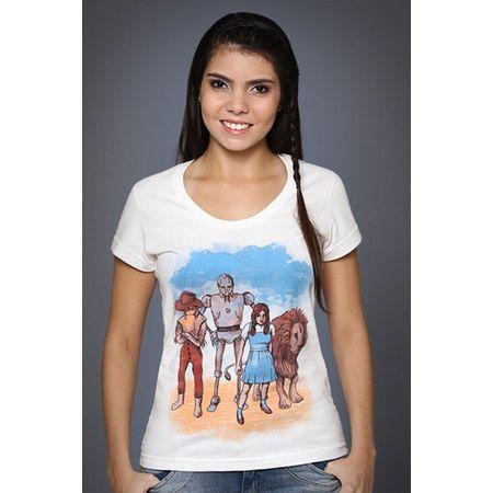 Camiseta Feminina o Mágico de Oz P