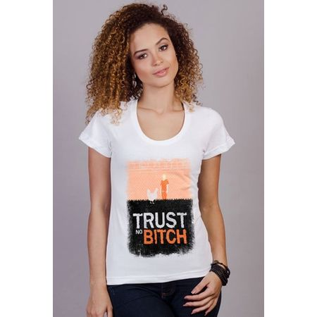 Camiseta Feminina Orange P