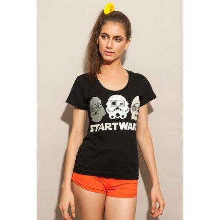 Camiseta Feminina Start Wars P