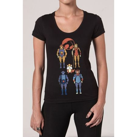 Camiseta Feminina Thundercats P