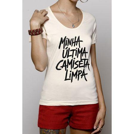 Camiseta Feminina Última Camiseta GG