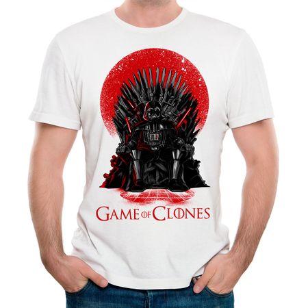 Camiseta Game Of Clones P-BRANCO