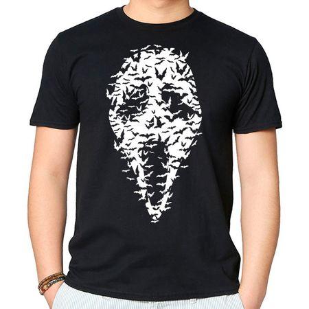 Camiseta Ghost Face P - PRETO