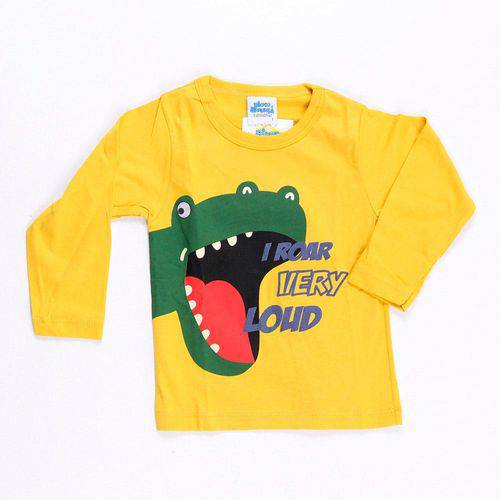 Camiseta Grande Rugido - Bicho Bagunça