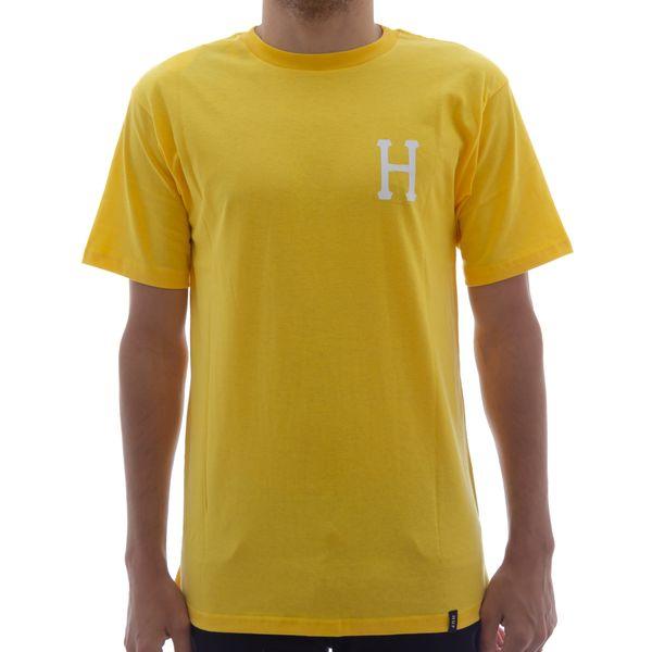 Camiseta Huf Classic H Amarelo (P)