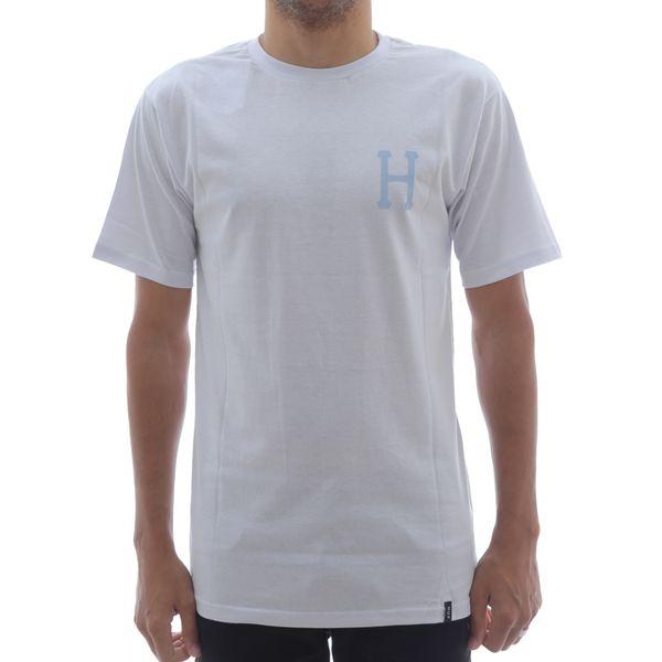 Camiseta Huf Classic H Branco (P)