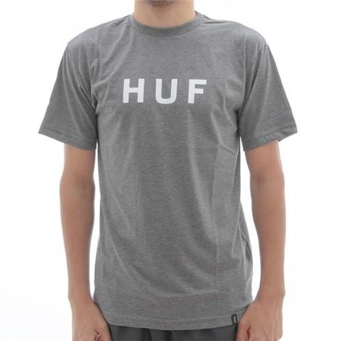 Camiseta Huf Logo Grey (P)
