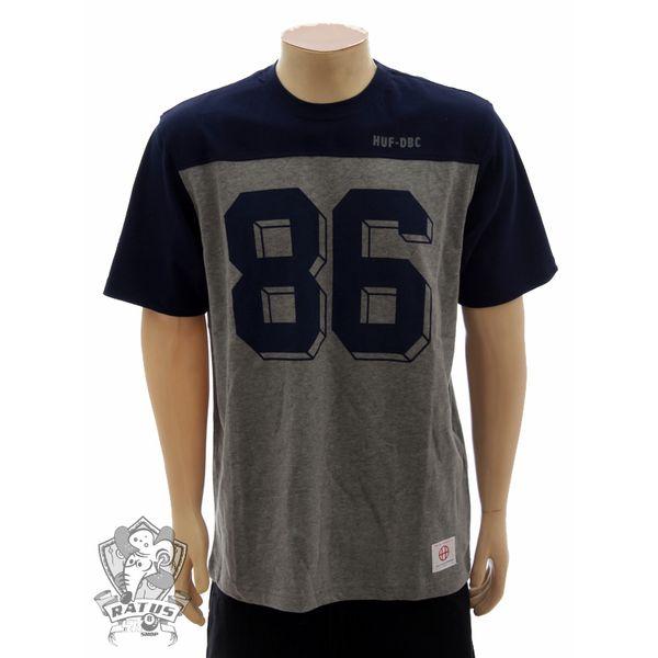 Camiseta HUF Raglan Marinho (M)