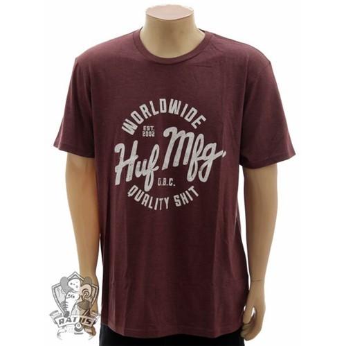 Camiseta HUF Shit Wine Coral (G)