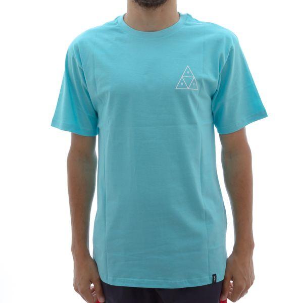 Camiseta Huf Triple Triangle Ciano (P)