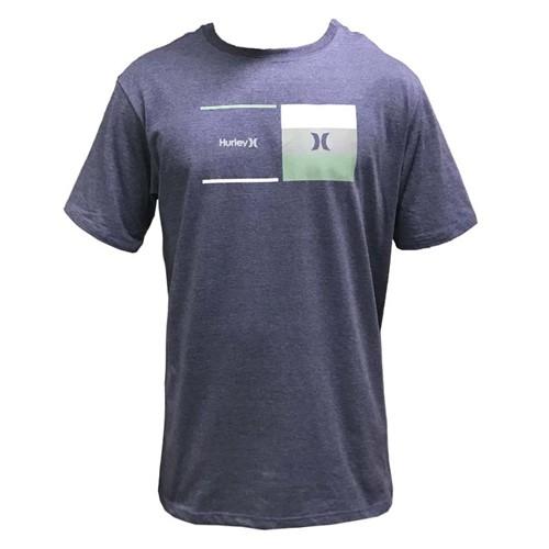 Camiseta Hurley Breaking Point Azul M