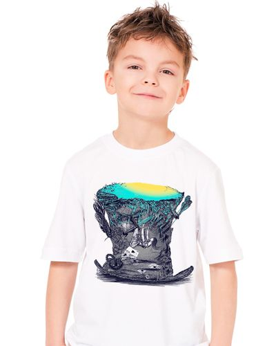 Camiseta Infantil Alice no País das Maravilhas