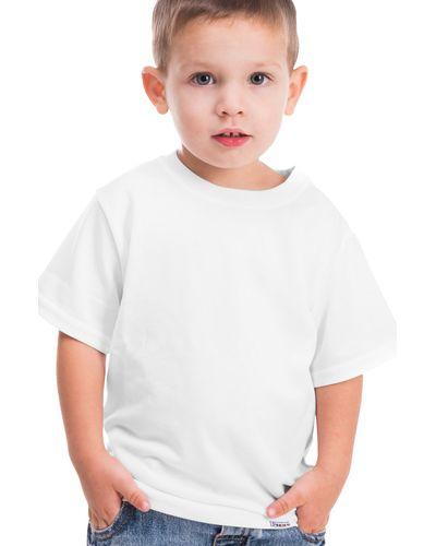 Camiseta Infantil Básica Branca