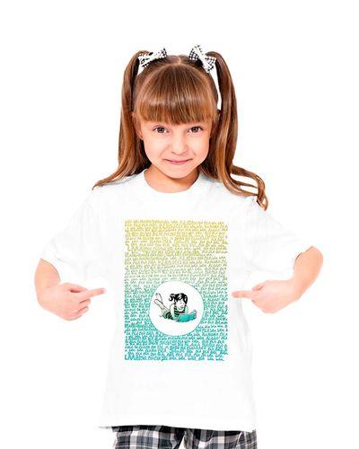 Camiseta Infantil Blá Blá Blá
