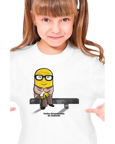 Camiseta Infantil Carlos Drumminion