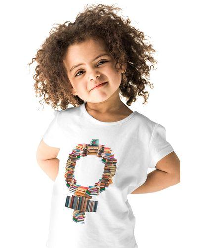 Camiseta Infantil Feminismo Literário