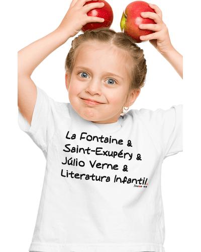 Camiseta Infantil La Fontaine e Cia