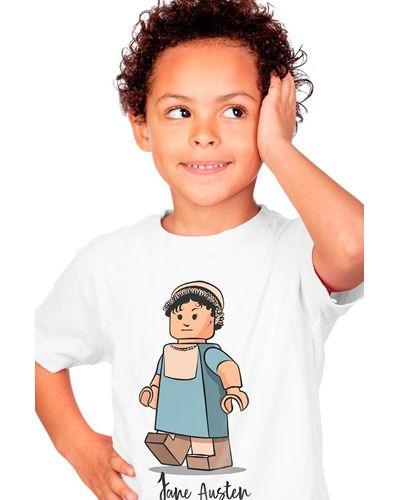 Camiseta Infantil Lego Jane Austen