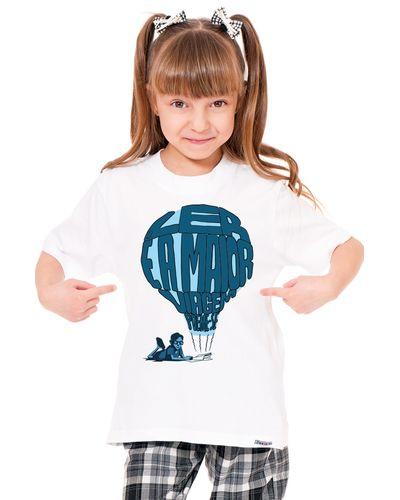 Camiseta Infantil Ler é a Maior Viagem