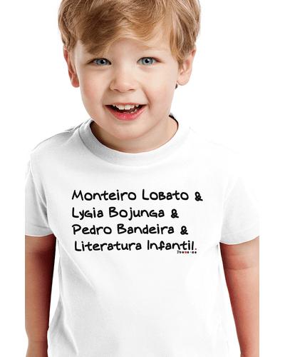 Camiseta Infantil Monteiro Lobato e Cia