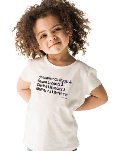 Camiseta Infantil Mulheres na Literatura