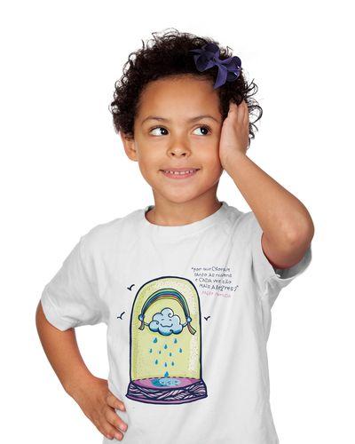 Camiseta Infantil Nuvens de Neruda
