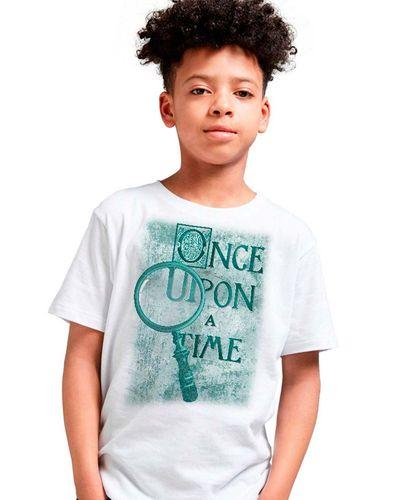 Camiseta Infantil Once Upon a Time
