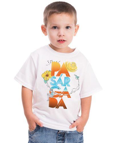 Camiseta Infantil Pasárgada