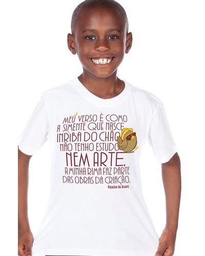 Camiseta Infantil Patativa do Assaré