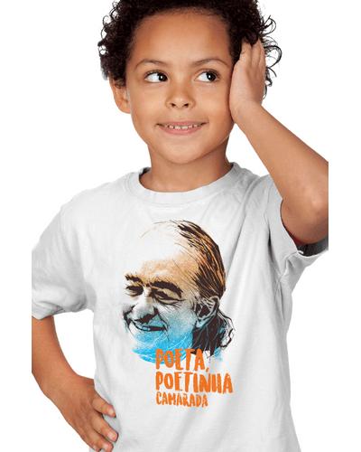 Camiseta Infantil Poetinha
