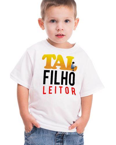 Camiseta Infantil Tal Filho Leitor
