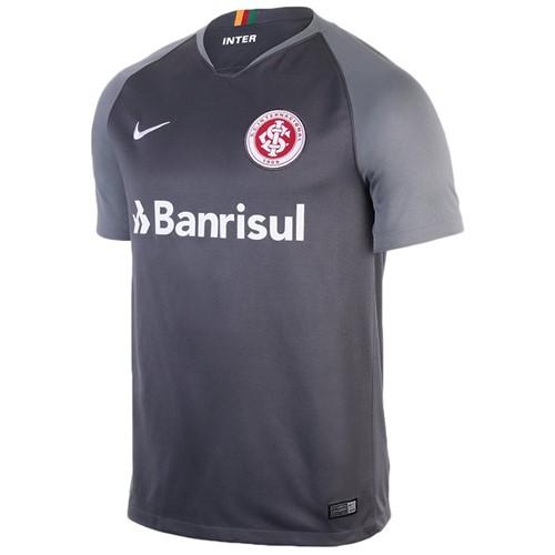 Camiseta Internacional Infantil Nike 894463-022 Cinza