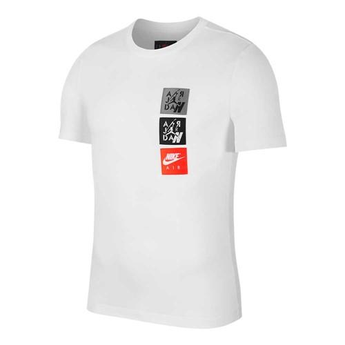 Camiseta Jordan Legacy AJ4 Woven Labels Masculina