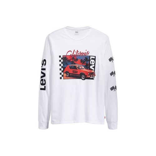 Camiseta Levis Graphic California Car - M