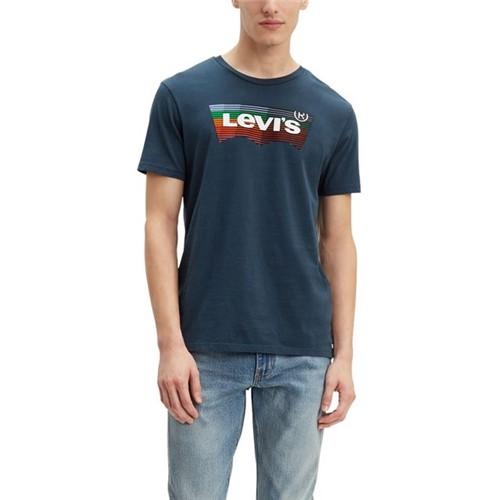 Camiseta Levis Graphic Logo Batwing - L