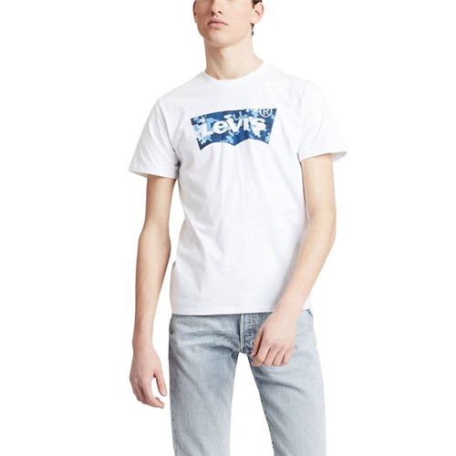 Camiseta Levis Graphic Logo Batwing - S