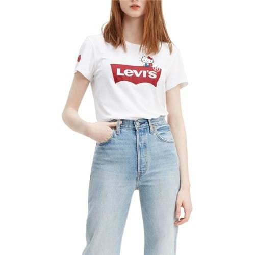 Camiseta Levis Logo Batwing Hello Kitty - M