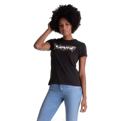 Camiseta Levis Logo Batwing - S