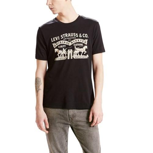 Camiseta Levis Logo 2 Horse - S