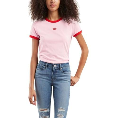 Camiseta Levis Perfect Ringer - M