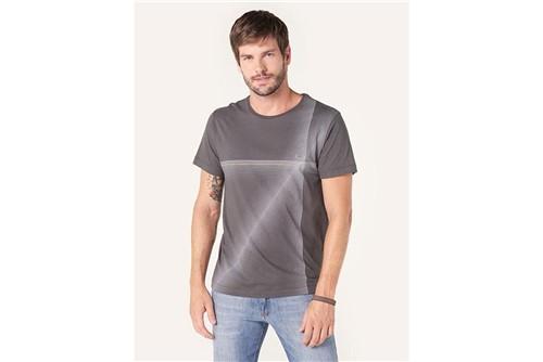 Camiseta Lines - Chumbo - P
