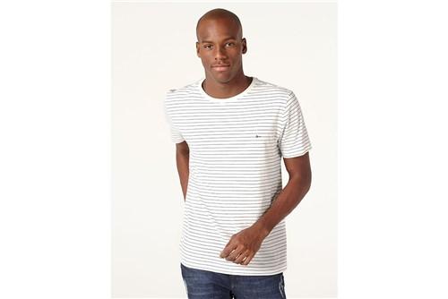 Camiseta Listra Náutica - Branco - M