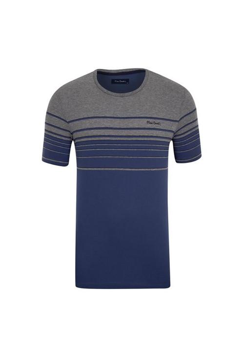 Camiseta Listradora Azul Índigo M