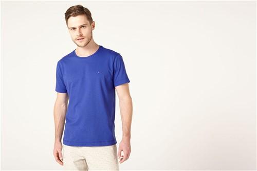 Camiseta Listras Careca Básica - Azul - XGG
