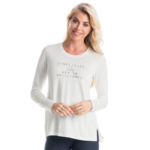 Camiseta Luzia Off White/P