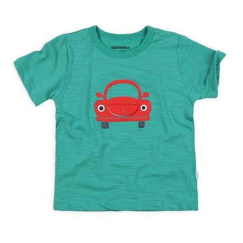 Camiseta M/c Peças para Brincar Camiseta M/c Pecas para Brincar Hortela/2 e 3