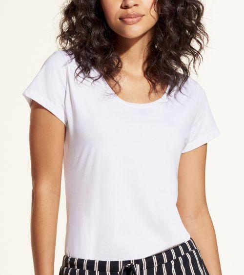 Camiseta Manga Curta 21010 Branco - G